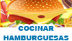 Cocinar hamburguesas